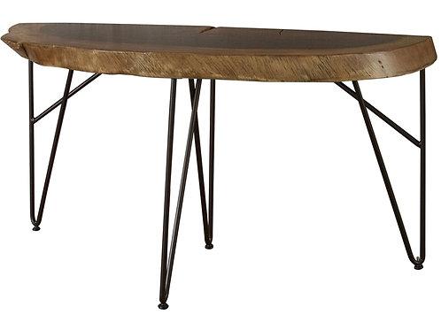 Vivo Natural Two-Tone Sofa Table