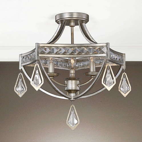 Tamworth 3 Light Semi Flush Mount