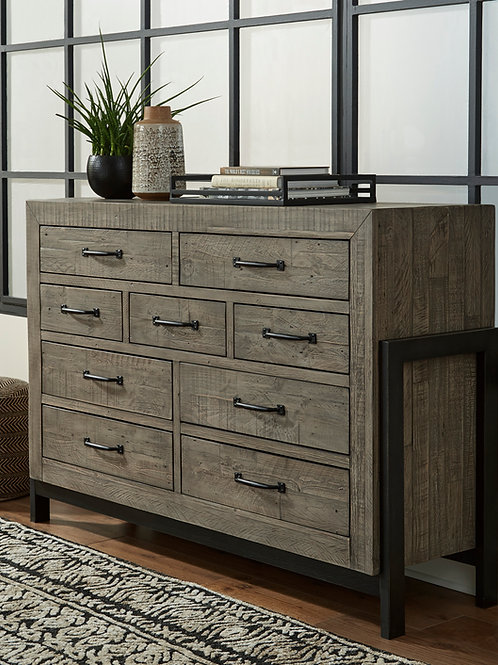 Brennagan Gray Dresser