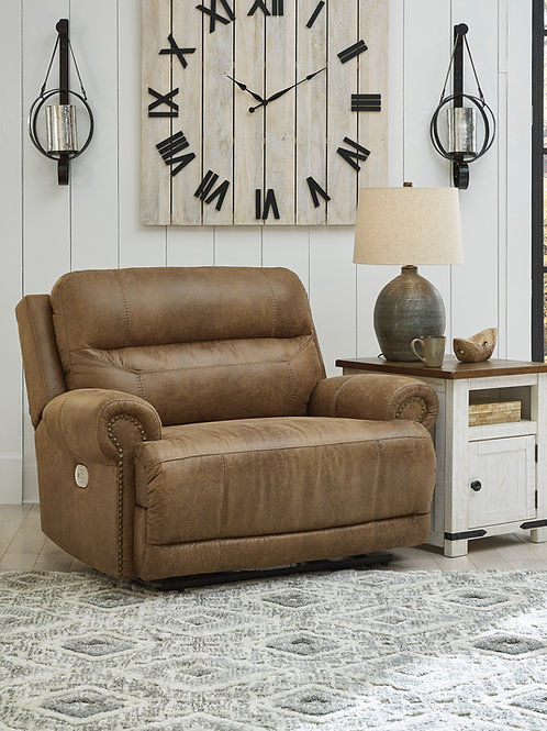 Grearview Earth Wide Seat Power Recliner