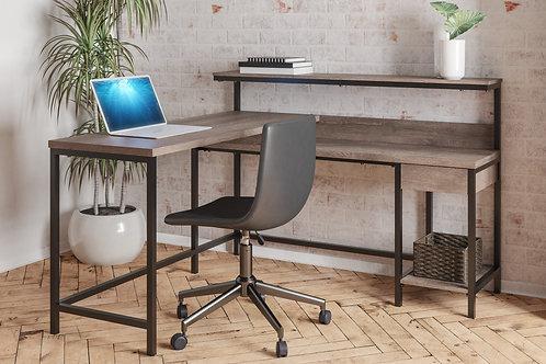 Arlembry L-Shape Desk w/ Storage
