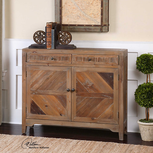 Hesperos Solid Wood Console Cabinet