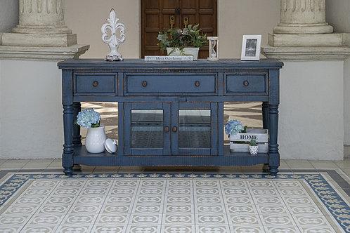 Aruba Dark Blue TV / Sofa Table
