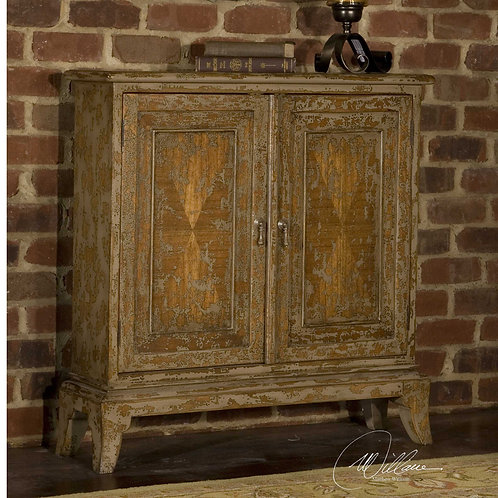 Maguire Mahogany Two Door Cabinet
