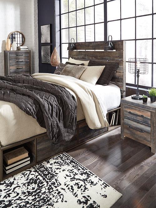 Drystan Urban Rustic Youth Storage Bed