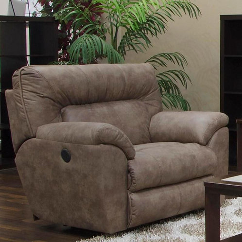 Hollins Coffee Power Wall Hugger Recliner