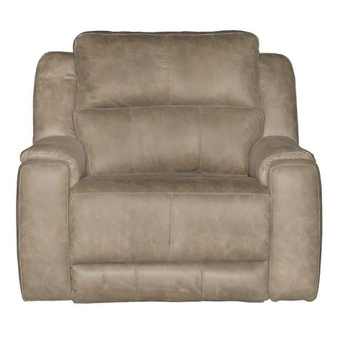 Dazzle Taupe Extra Wide Wall Hugger Recliner