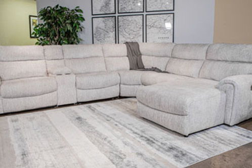 Critic's Parchment Reclining Sectional