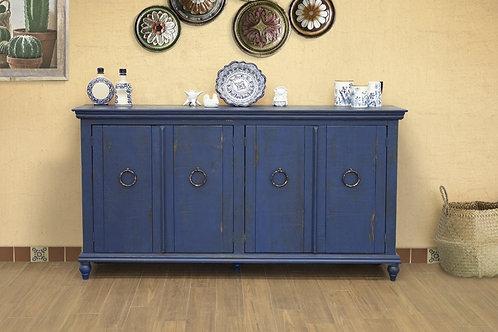 Capri Blue Console Table