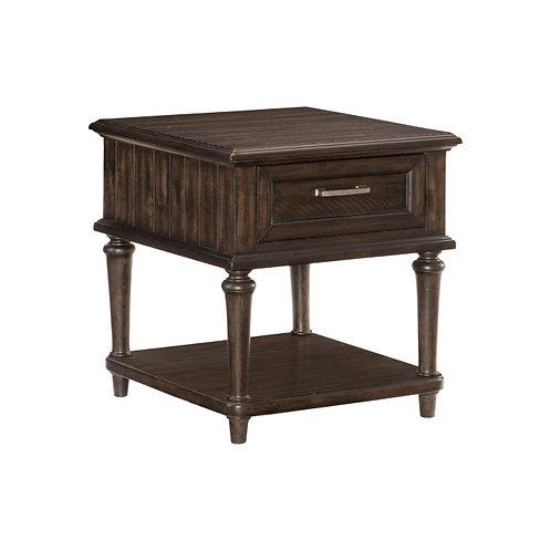Cardano Dark Brown End Table