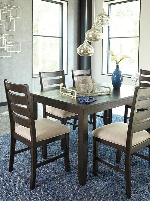 Rokane Brown 7-PC Dining Set