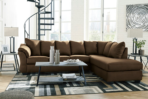 Darcy Cafe 2-PC Sectional