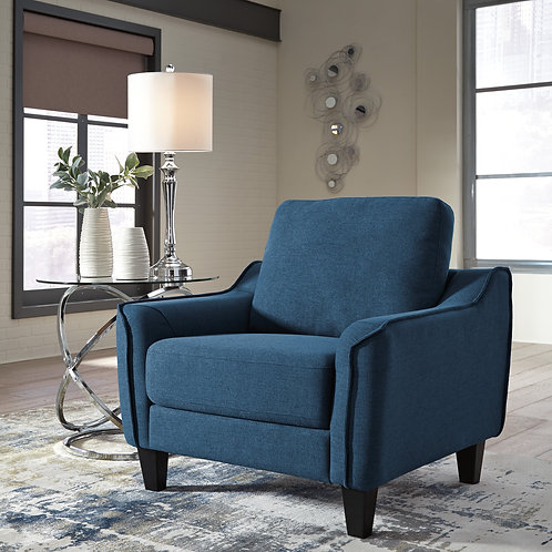 Jarreau Blue Accent Chair
