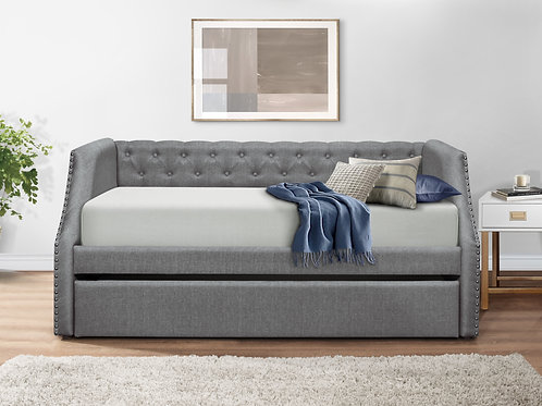 Corrina Gray Daybed w/Trundle
