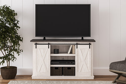 "Dorrinson Two-Tone 54"" TV Stand"