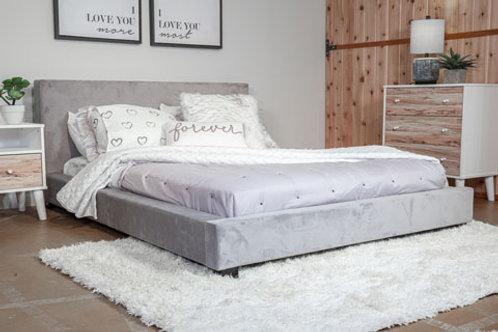 Chesani Gray Full Upholstered Bed
