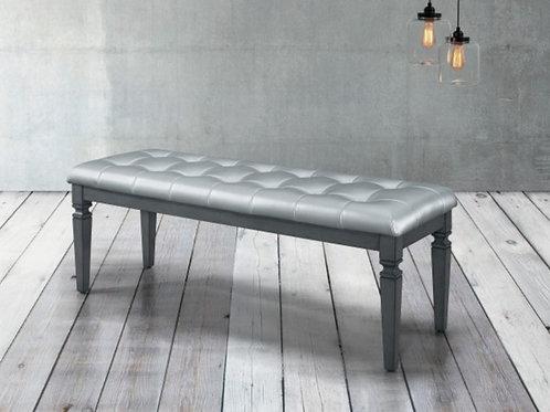 Allura Gray Bench