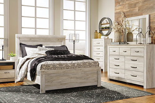 Bellaby White Queen Panel Bedroom Set