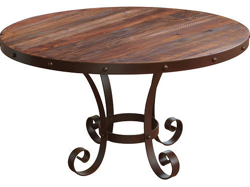 Antique Multicolor Dining Table