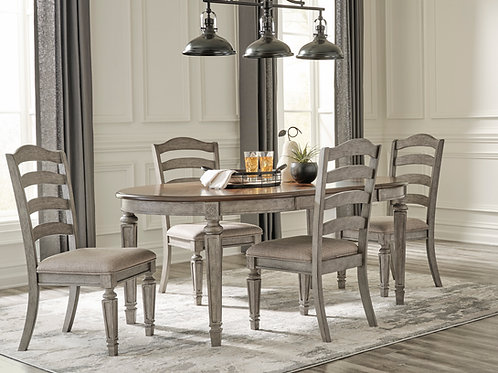 Lodenbay Two-Tone 4-PC Dining Set