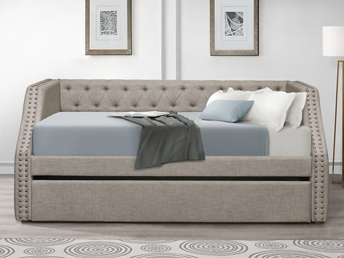 Berwick Light Gray Daybed w/Trundle