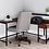 Thumbnail: Camiburg Warm Brown L-Desk with Storage