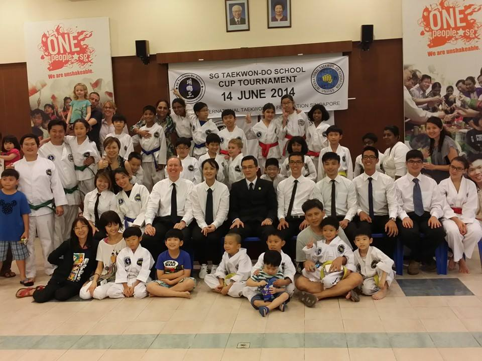 SG Taekwon-Do Family & Parents