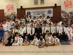 SG Taekwon-Do Family & Parents