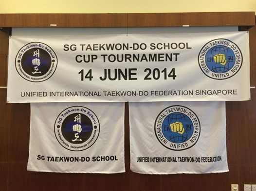 SG Taekwon-Do School Cup 2014