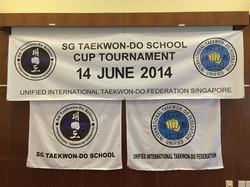 SG Taekwon-Do School Cup 2014