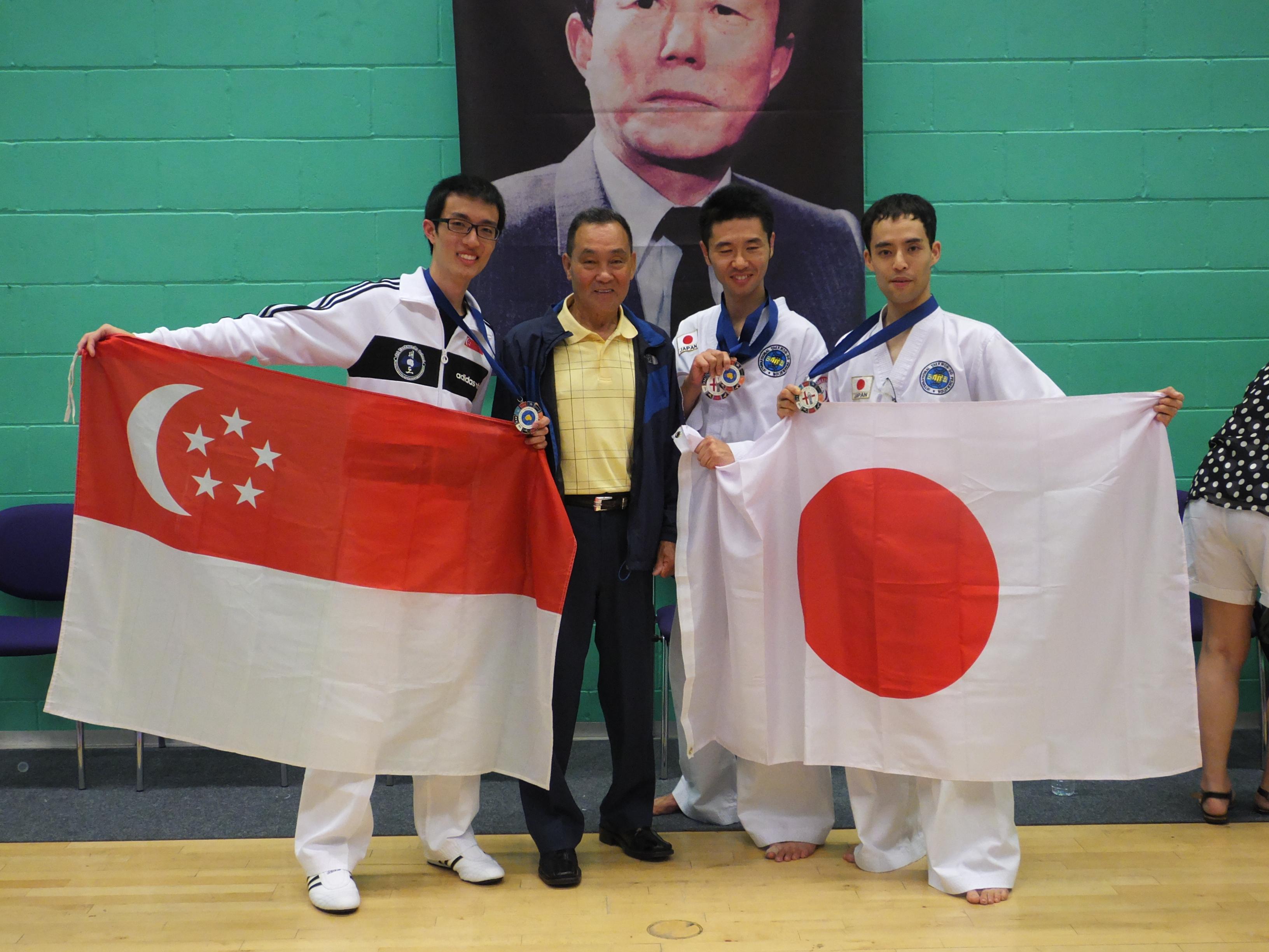 Singapore & Japan with GM Hwang
