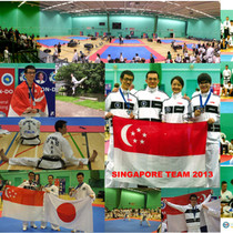 Singapore Team London WC 2013