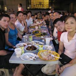 Dinner with Singapore Team