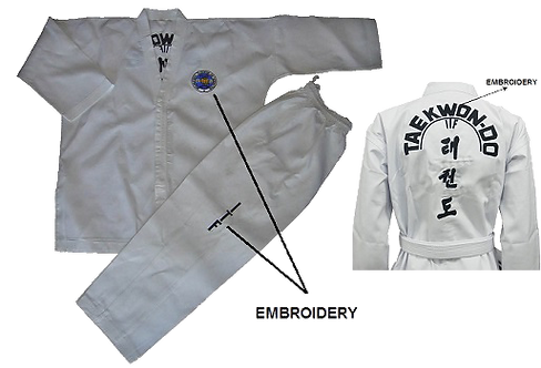 ITF Color Belt Uniform