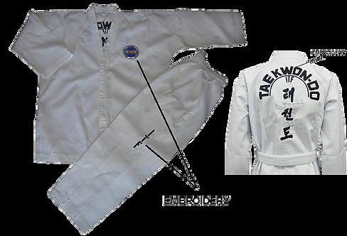 ITF Color Belt Uniform