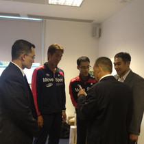 GHM talking with Japan Team 2013