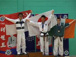 Thomas Silver Medal under 60kg