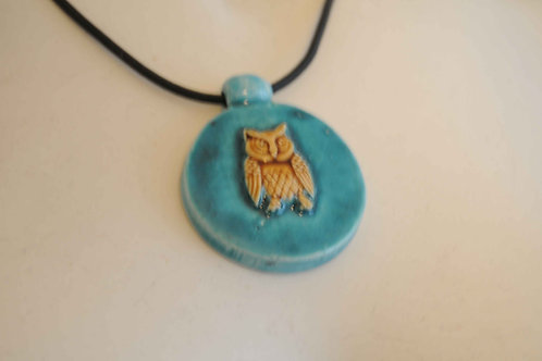 owl on necklace