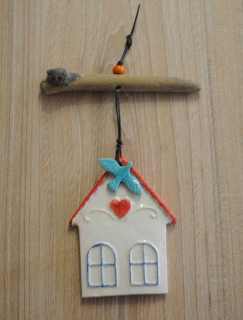 ceramic birdhouse wall decor | istanbulworks | design | home
