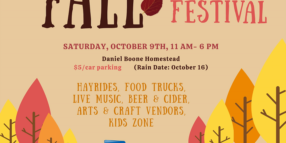 Fall Fest at the Homestead with Exeter Township