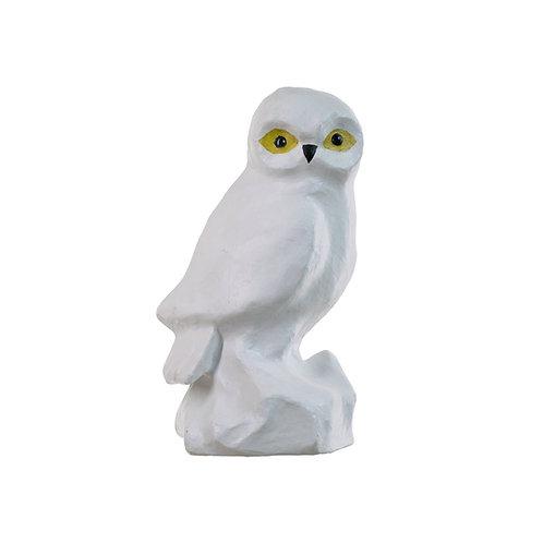 AKIRA THE SNOWY PAPIER MACHE OWL
