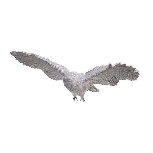 LUNA THE FLYING PAPIER MACHE OWL