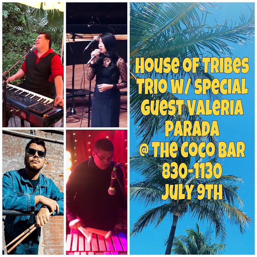 House of Tribes Trio @ CocoBar