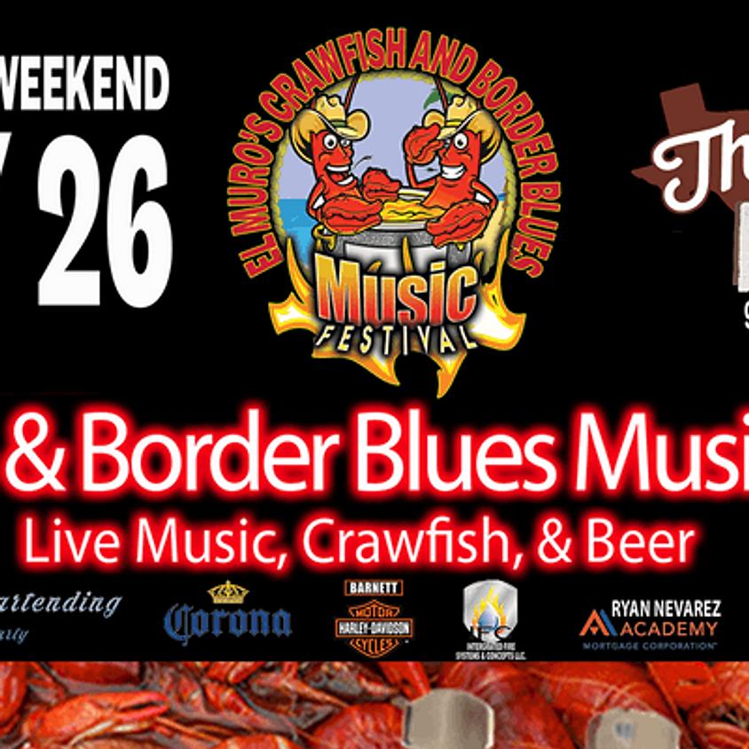 David Noriega Blues Group @ Crawfish and Blues Festival