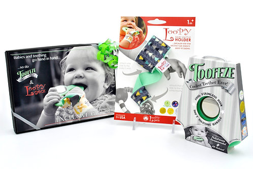 Exclusive Toofeze Loopy Gift Sets - Mint Triangles
