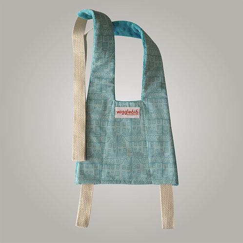 Wigglebib Little Town Turquoise Shopping Cart Harness