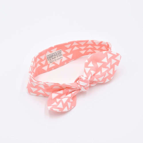 Coral Triangles Baby Headband