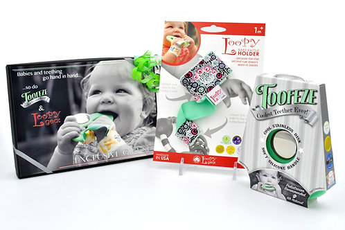 Exclusive Toofeze Loopy Gift Sets - Mint Floral