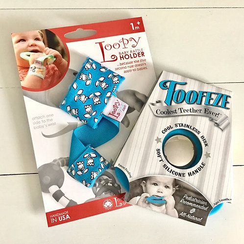Exclusive Toofeze Loopy Gift Sets - Sky Flowers