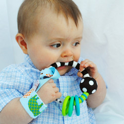 Loopy Rattle & Toy Tether